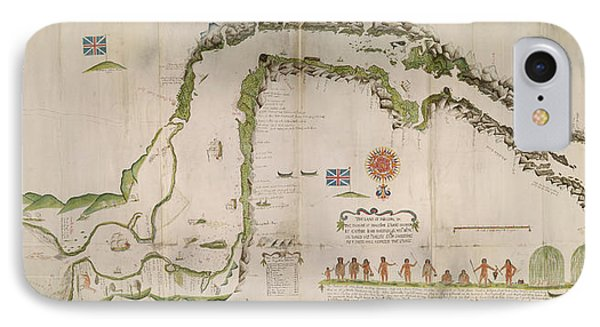 Straits Of Magellan IPhone Case by British Library
