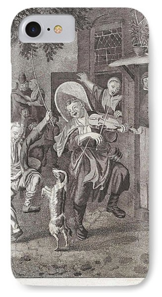 Street Musicians, Anonymous IPhone Case by Anonymous