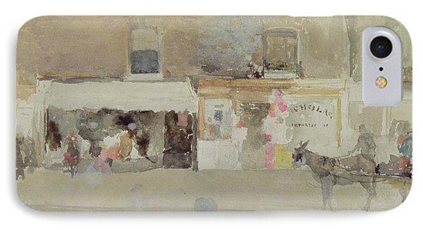 Street Scene In Chelsea IPhone Case by James Abbott McNeill Whistler