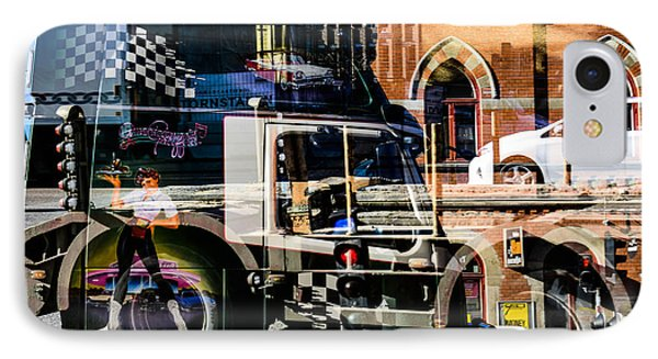 Streetcars And Trucks IPhone Case by Toppart Sweden
