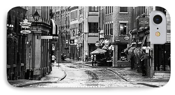 Streets Of Montreal IPhone Case by John Rizzuto
