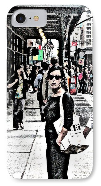 Streets Of Nyc 19 Phone Case by Mario Perez