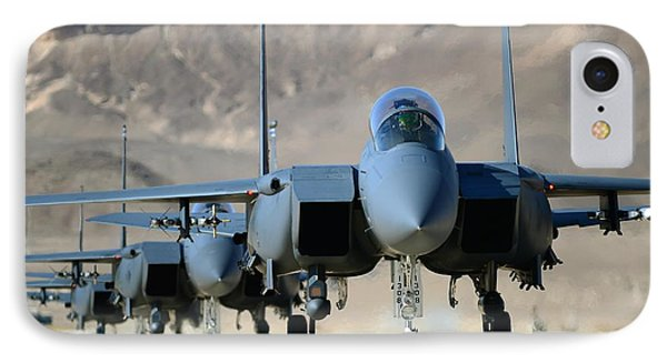 Strike Eagles IPhone Case by Master Sgt Lee Osberry