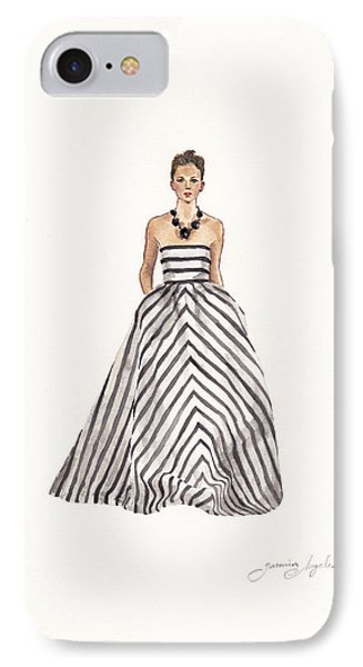 Striped Glamour IPhone Case by Jazmin Angeles