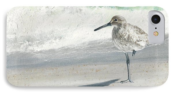 Study Of A Sandpiper IPhone Case by Rob Dreyer AFC
