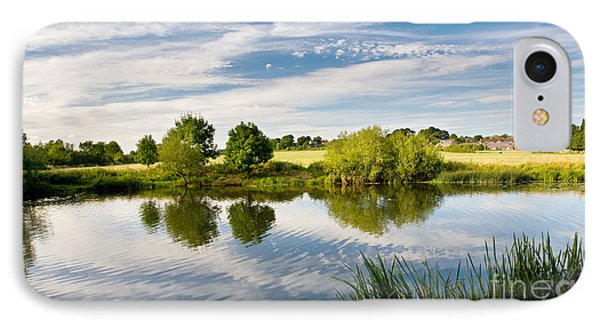 Sturminster Newton - River Stour - Dorset - England IPhone Case by Natalie Kinnear