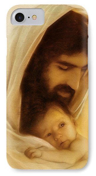 Suffer The Little Children IPhone Case by Ray Downing
