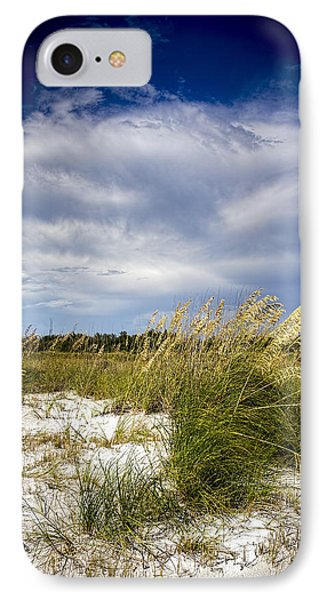 Sugar Sand And Sea Oats IPhone Case by Marvin Spates