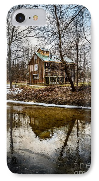 Sugar Shack In Deep River County Park Phone Case by Paul Velgos