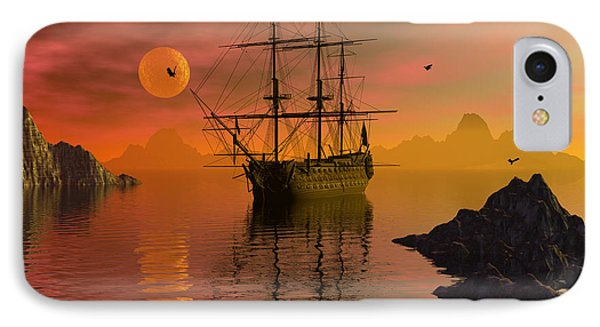 Summer Anchorage IPhone Case by Claude McCoy