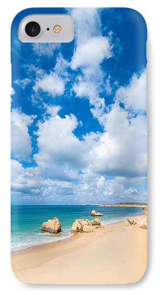 Summer Beach Algarve Portugal Phone Case by Amanda Elwell