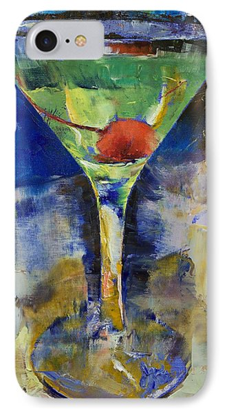 Summer Breeze Martini IPhone Case by Michael Creese