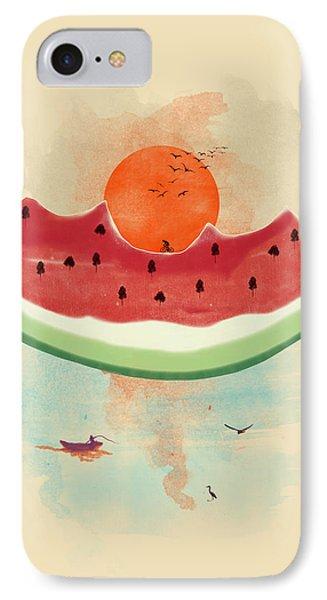 Summer Delight IPhone 7 Case by Neelanjana  Bandyopadhyay