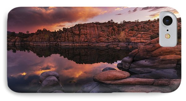 Summer Dells Sunset IPhone Case by Peter Coskun