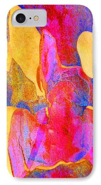 Summer Eucalypt Abstract 24 Phone Case by Margaret Saheed