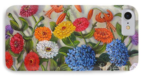 Summer Flowers Phone Case by Randol Burns