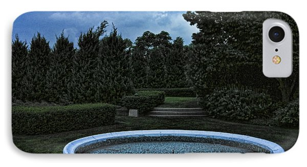 Summer Storm Coming Bahai Temple Phone Case by John Hansen