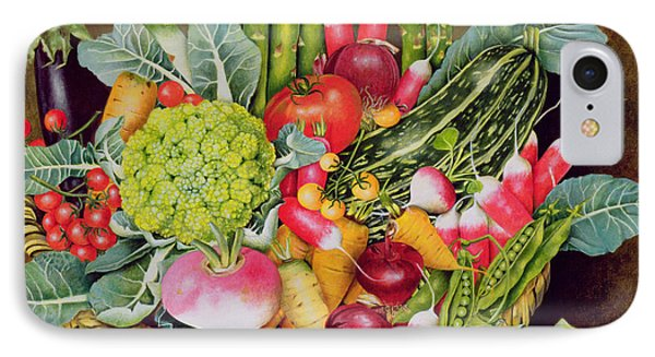 Summer Vegetables IPhone 7 Case by EB Watts