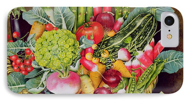 Summer Vegetables IPhone Case by EB Watts