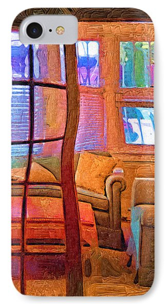 Sun Porch IPhone Case by Kirt Tisdale