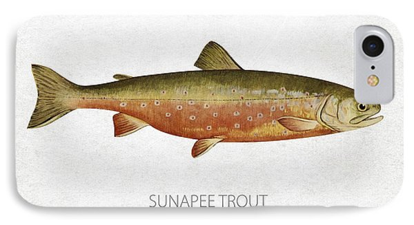 Sunapee Trout IPhone Case by Aged Pixel