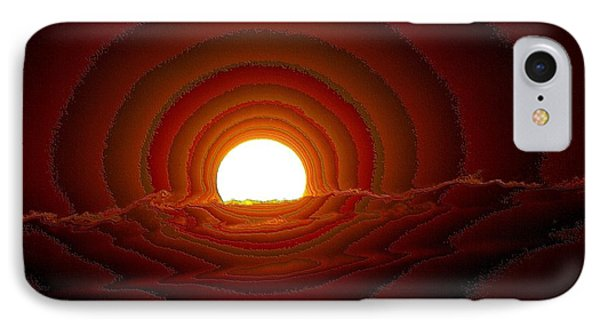 Sunfall Behind The Mountains Phone Case by Jeff Swan