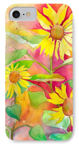 Sunflower Phone Case by Kelly Perez