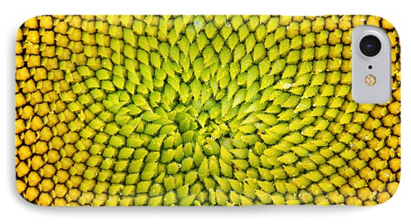 Sunflower Middle  IPhone 7 Case by Tim Gainey