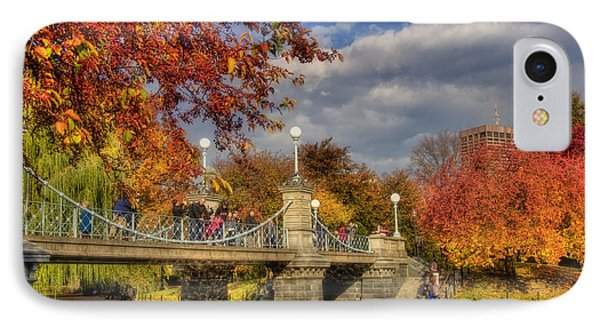Sunkissed Lagoon Bridge IPhone Case by Joann Vitali