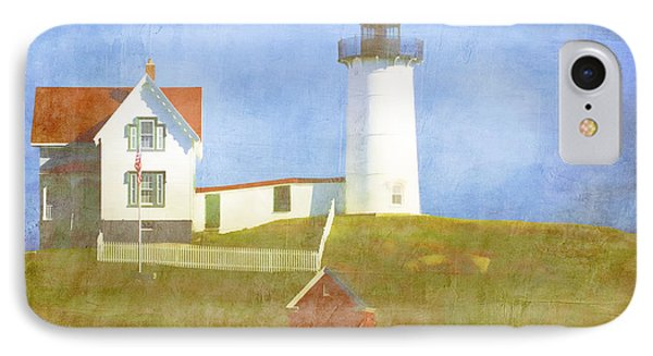 Sunny Day At Nubble Lighthouse IPhone Case by Carol Leigh