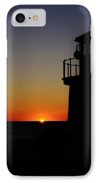 Sunrise Abstract Phone Case by Joy Bradley