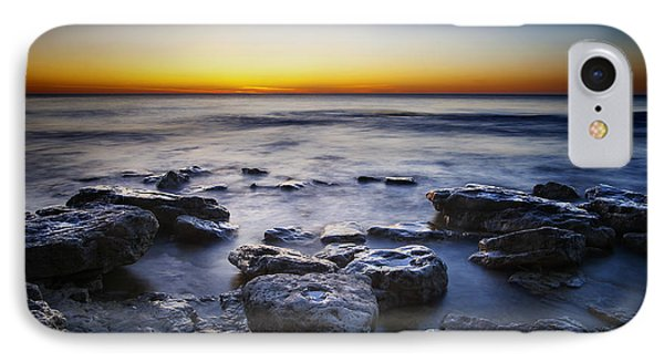 Sunrise At Cave Point IPhone Case by Scott Norris