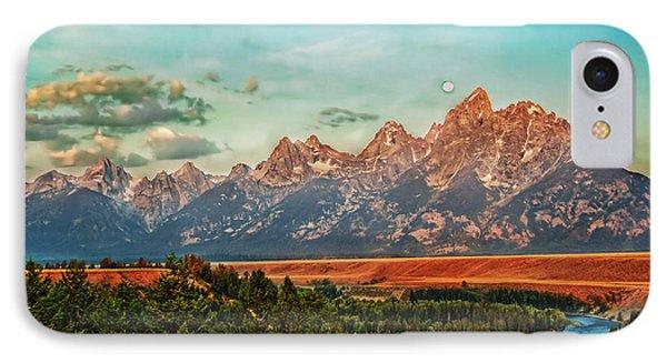 Sunrise At Grand Tetons Phone Case by Robert Bales