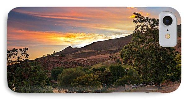 Sunrise At Woodhead Park Phone Case by Robert Bales