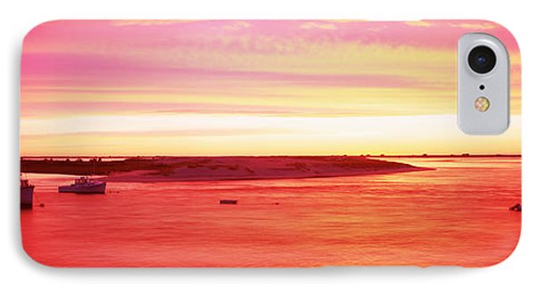 Sunrise Chatham Harbor Cape Cod Ma Usa IPhone Case by Panoramic Images