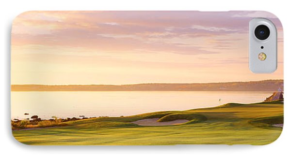 Sunrise Golf Course Me Usa IPhone Case by Panoramic Images