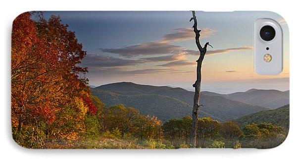 Sunrise In Shenandoah National Park Phone Case by Pierre Leclerc Photography