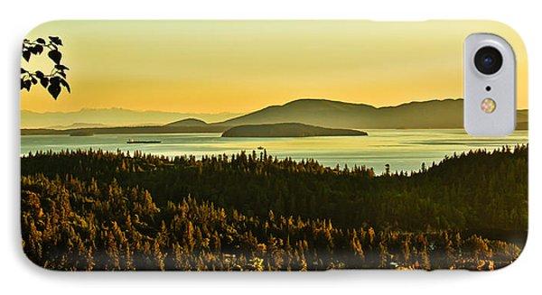 Sunrise Over Bellingham Bay Phone Case by Robert Bales