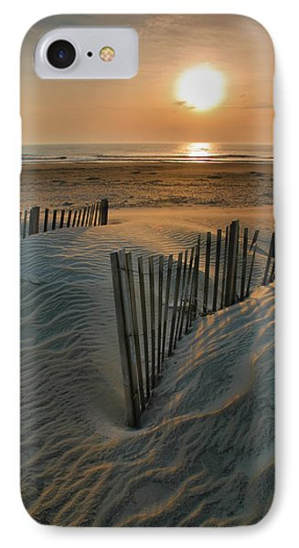 Sunrise Over Hatteras IPhone Case by Steven Ainsworth