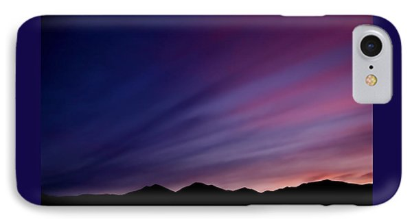 Sunrise Over The Mountains Phone Case by Rona Black