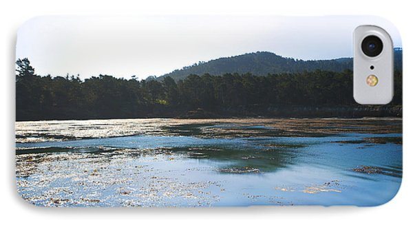 Sunrise Over Whaler's Cove At Point Lobos California IPhone Case by Artist and Photographer Laura Wrede