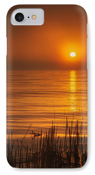 Sunrise Through The Fog IPhone Case by Scott Norris