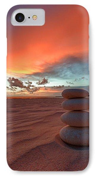 Sunrise Zen IPhone Case by Sebastian Musial