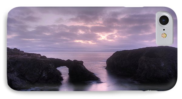 Sunset At Mendocino Phone Case by Bob Christopher