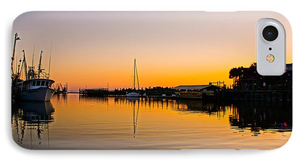 Sunset At Shem Creek Phone Case by Matthew Trudeau