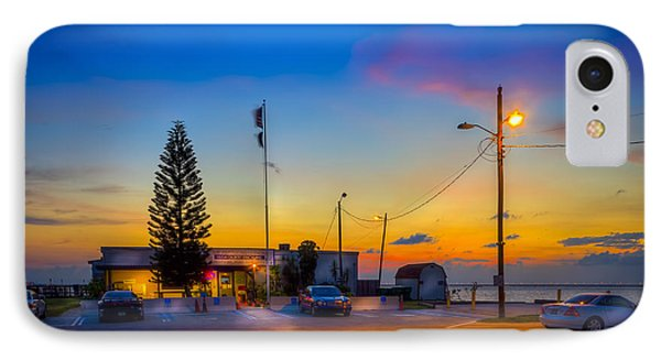Sunset At The Post IPhone Case by Marvin Spates