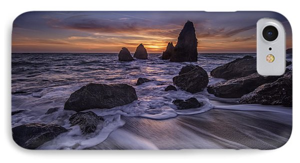 Sunset At Water's Edge IPhone Case by Rick Berk
