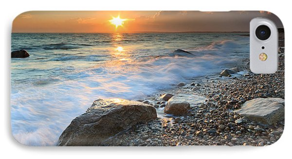 Sunset Beach Seascape IPhone Case by Katherine Gendreau