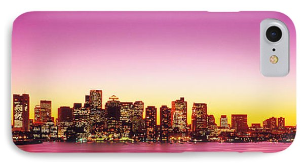 Sunset, Boston, Massachusetts, Usa IPhone Case by Panoramic Images