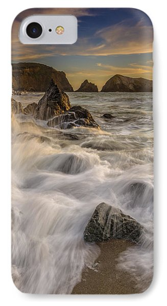 Sunset Churning IPhone Case by Rick Berk
